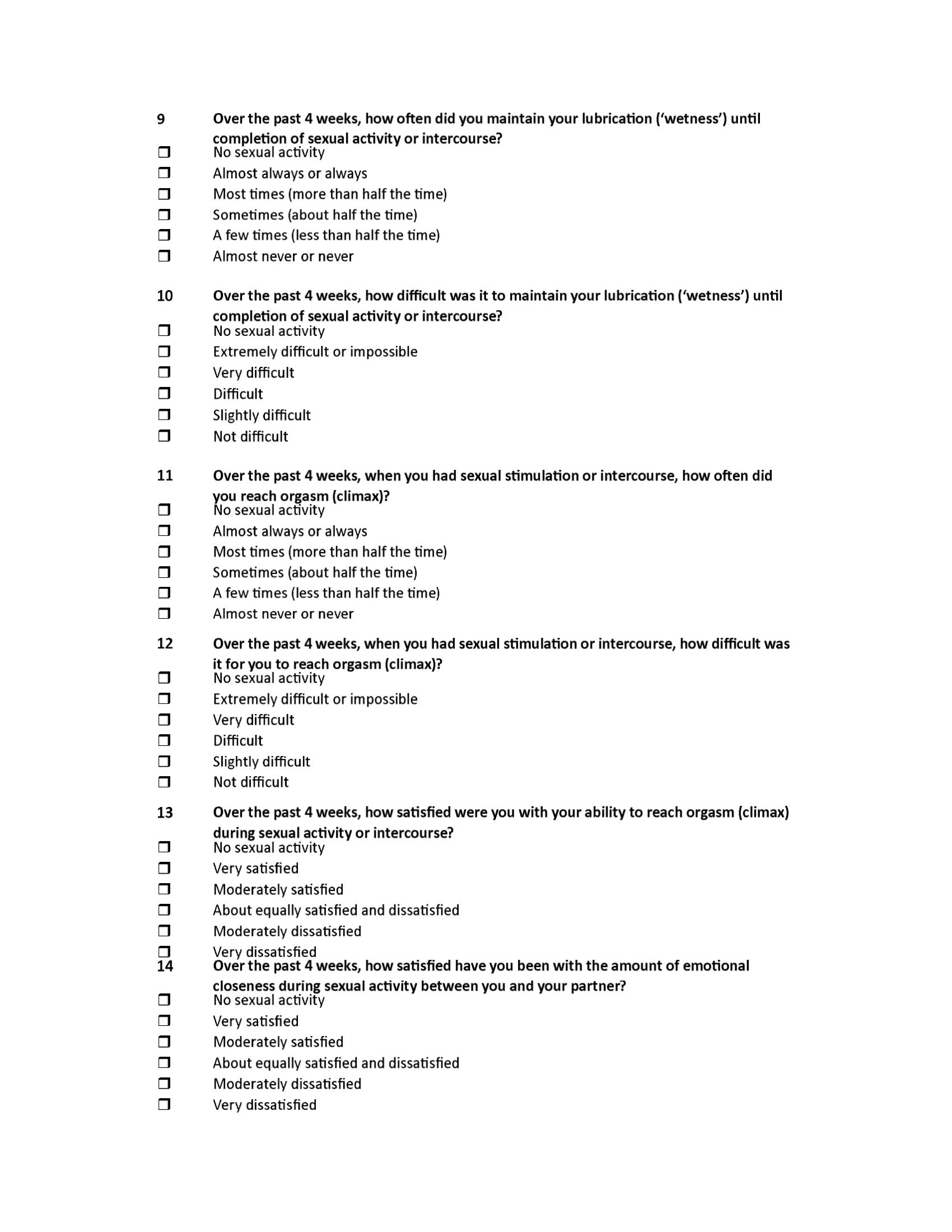 Sexual Complaints Male - 1